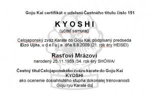 kyoshi_certifikat